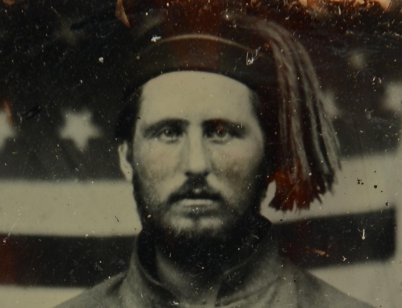 Lot 102: Civil War Ambrotype, 13th TN Union