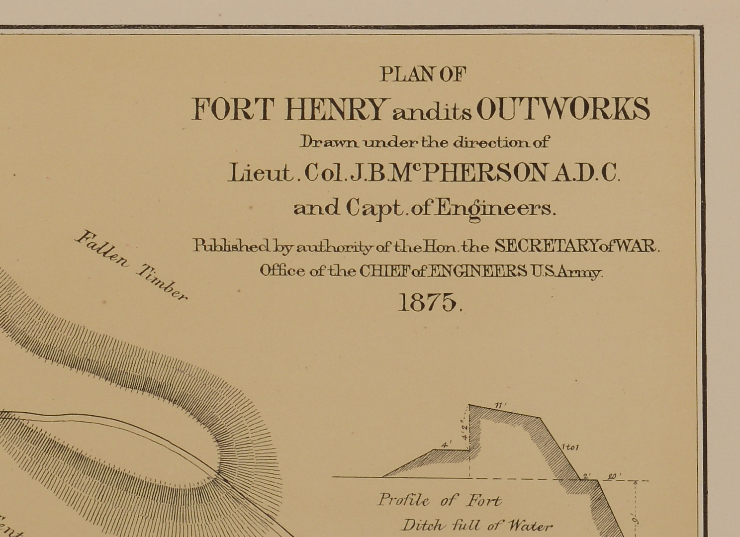 Lot 106: 2 Maps: Ft. Henry & Ft. Donelson