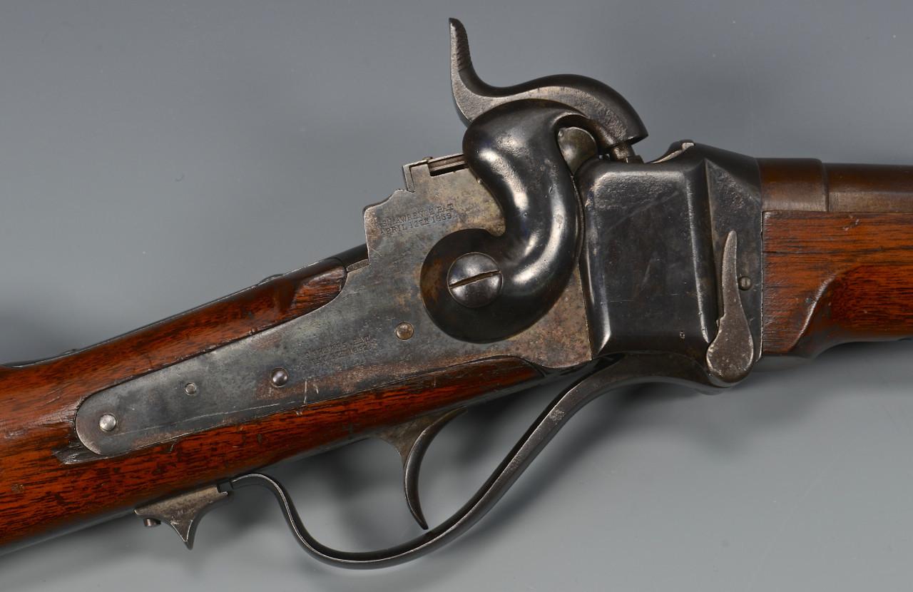 Lot 108: Sharps Model 1859 Carbine