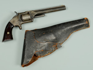 Lot 109: Civil War Smith & Wesson .32 cal. No. 2 w/ Inscri