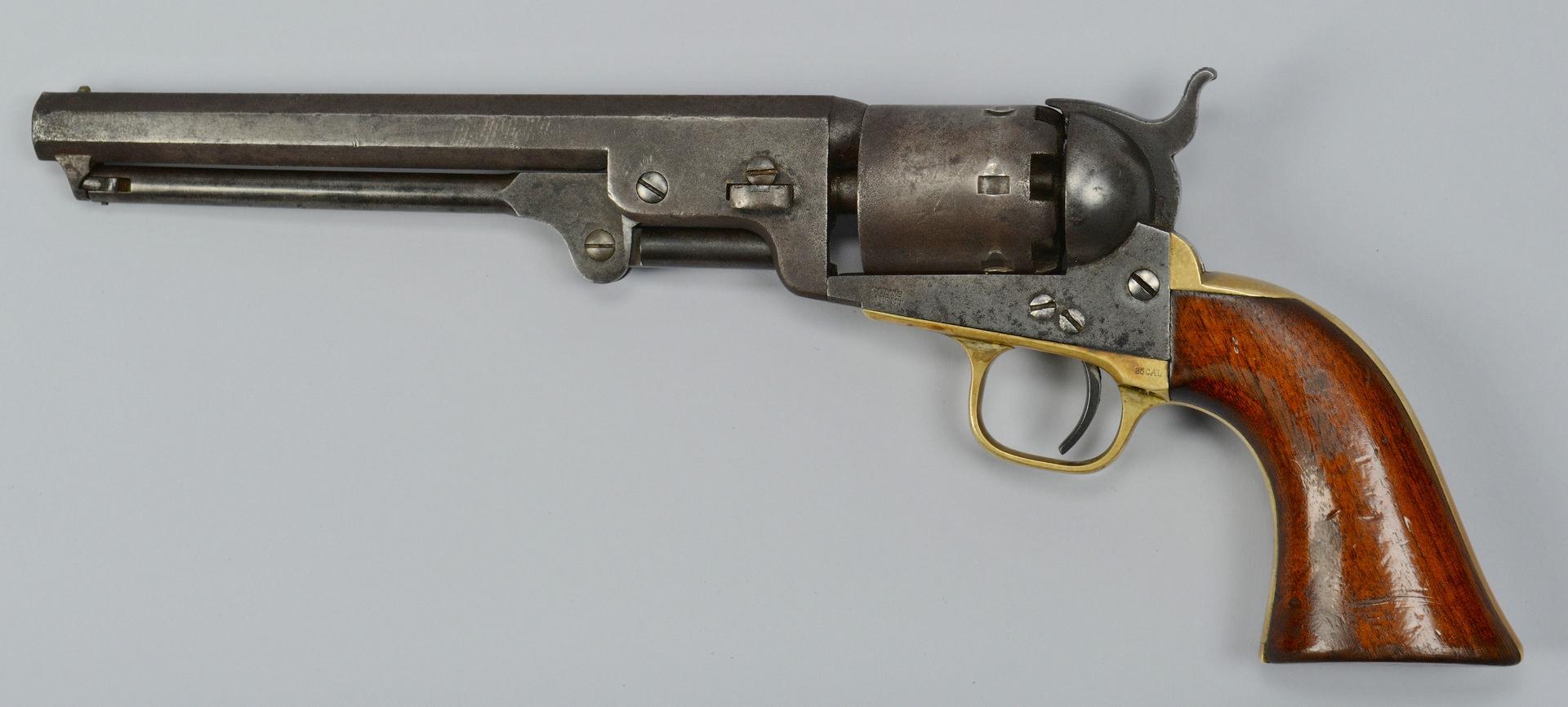 Lot 112: Colt Model 1851 Navy Revolver