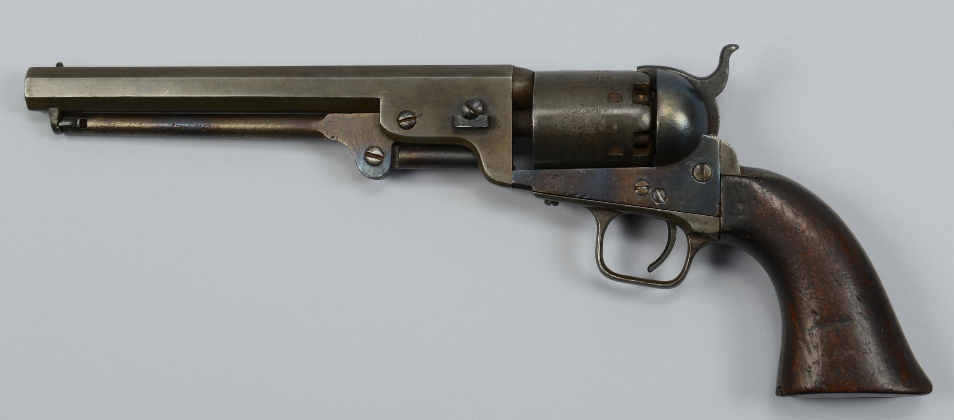 Lot 114: U.S. Colt Navy Model 1851, 3rd Model