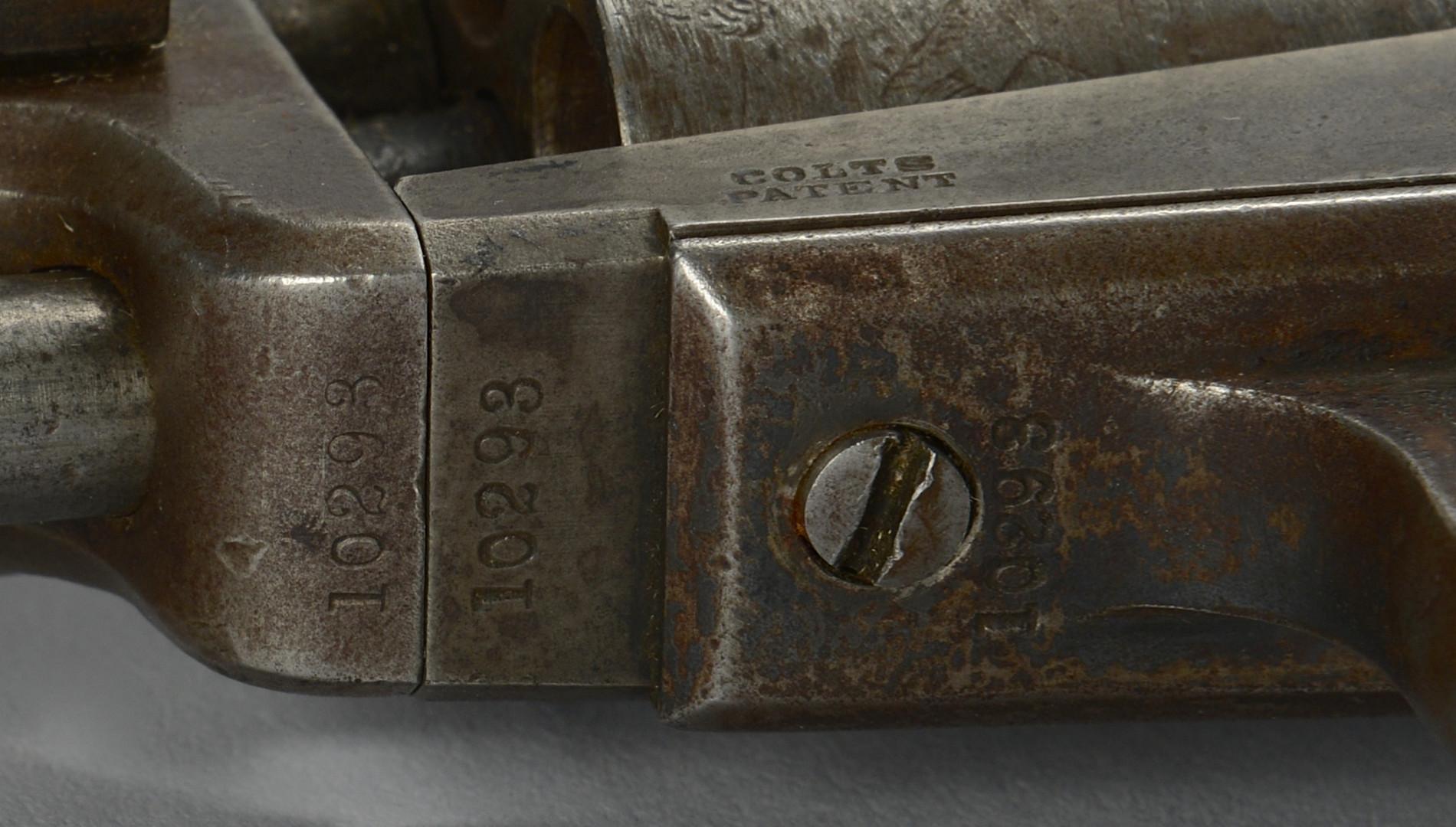 Lot 115: Colt Model 1849 Pocket Revolver