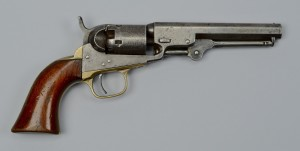 Lot 116: Colt Model 1849 Pocket Revolver, 1860