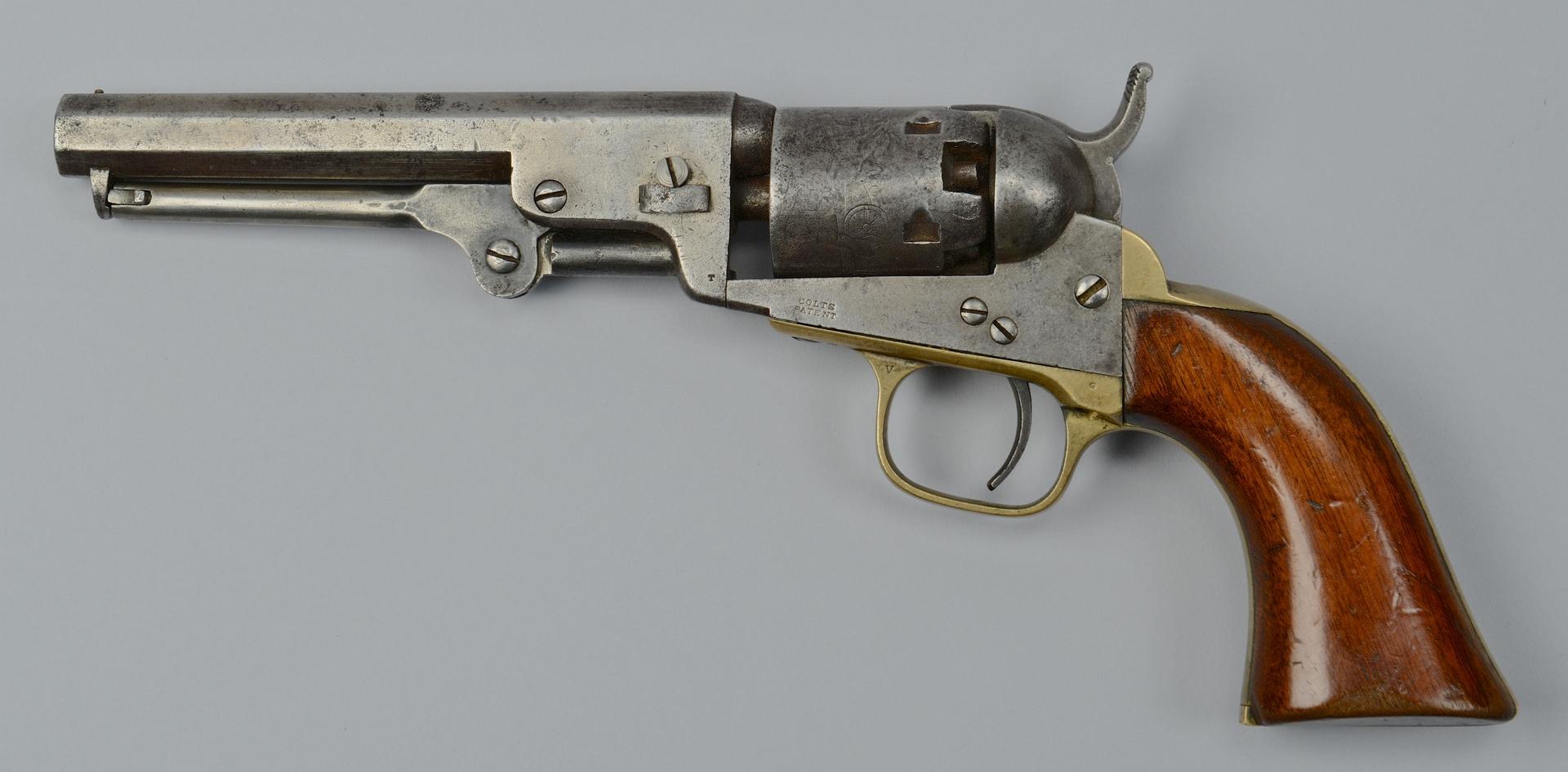 Lot 116: Colt Model 1849 Pocket Revolver, 1860