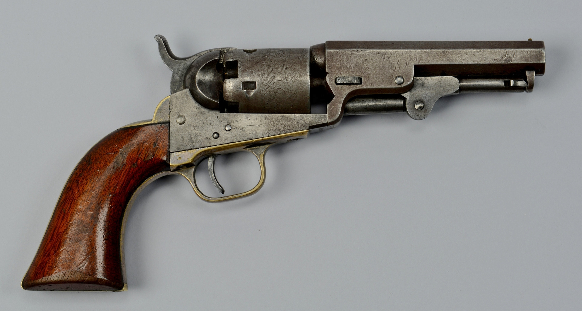 Lot 117: Colt Model 1849 Pocket Revolver, 1855