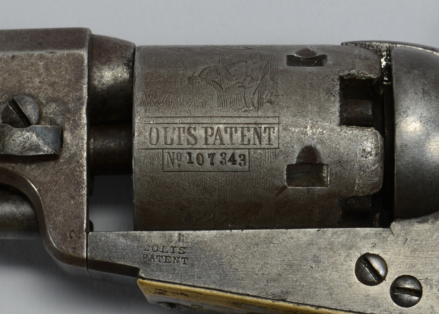 Lot 117: Colt Model 1849 Pocket Revolver, 1855