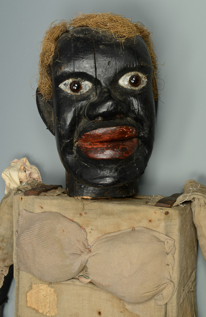 Lot 122: Black Americana Female Ventriloquist Doll