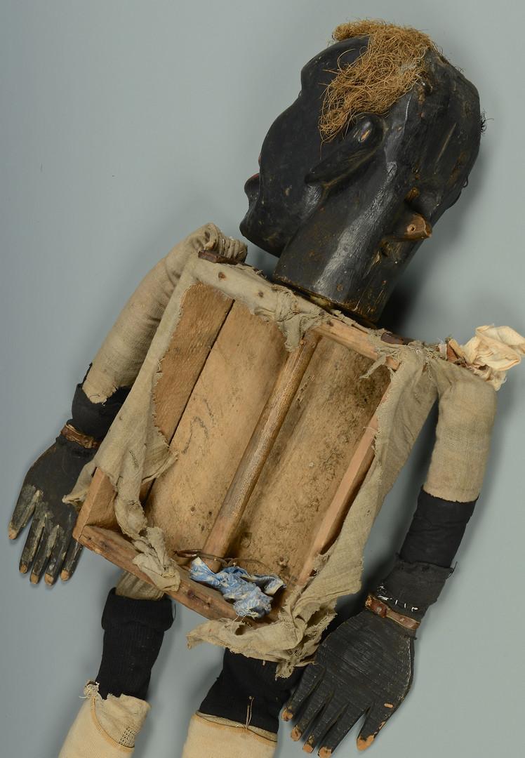 Lot 122: Black Americana Female Ventriloquist Doll