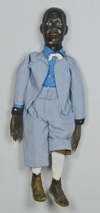 Lot 123: Black Americana Male Ventriloquist Doll