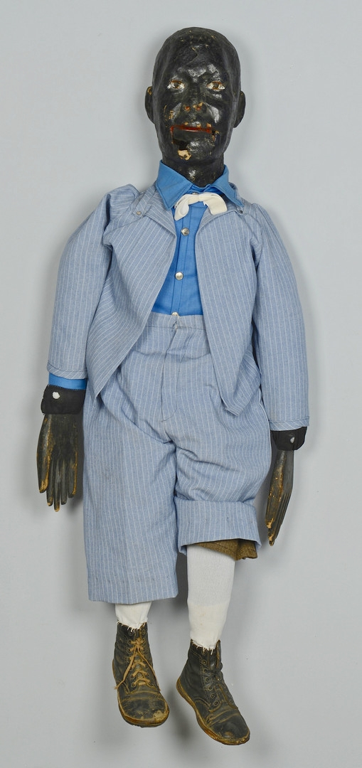 Lot 123: Black Americana Male Ventriloquist Doll