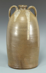 Lot 129: East TN William Grindstaff Stamped Jar