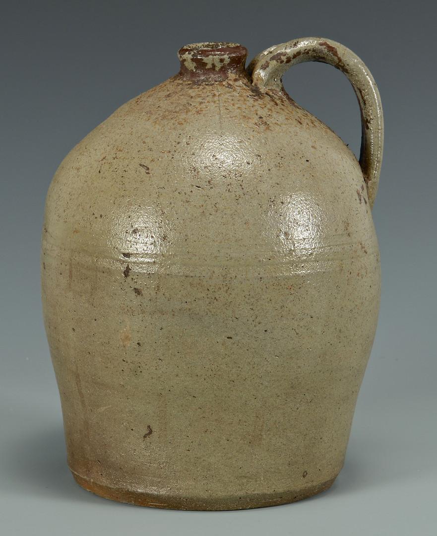 Lot 131: East TN Stoneware Jug, D. L. Smith