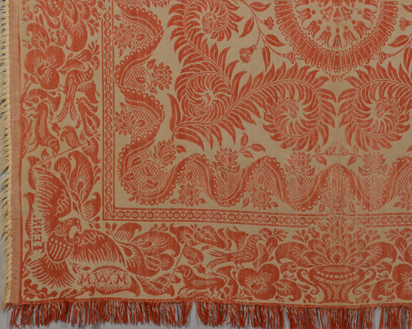 Lot 132: East TN Maryville Woolen Mill Coverlet