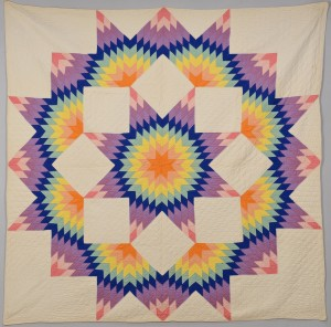 Lot 135: TN Lone Star Quilt