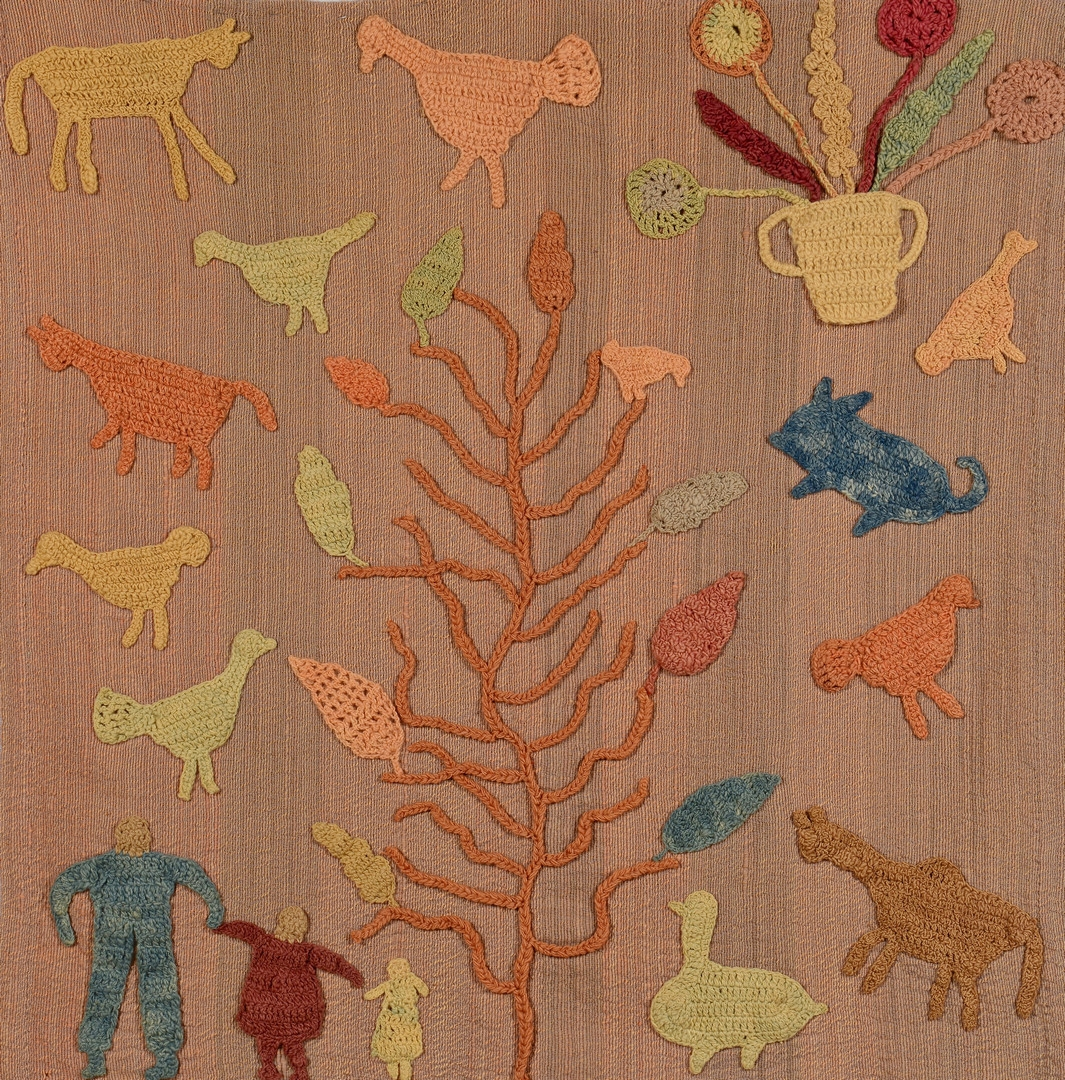 Lot 137: Granny Donaldson Folk Art Textile