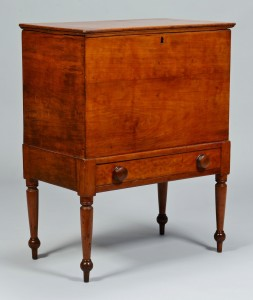 Lot 141: Williamson Co. TN sugar chest, Mooreland Plantation