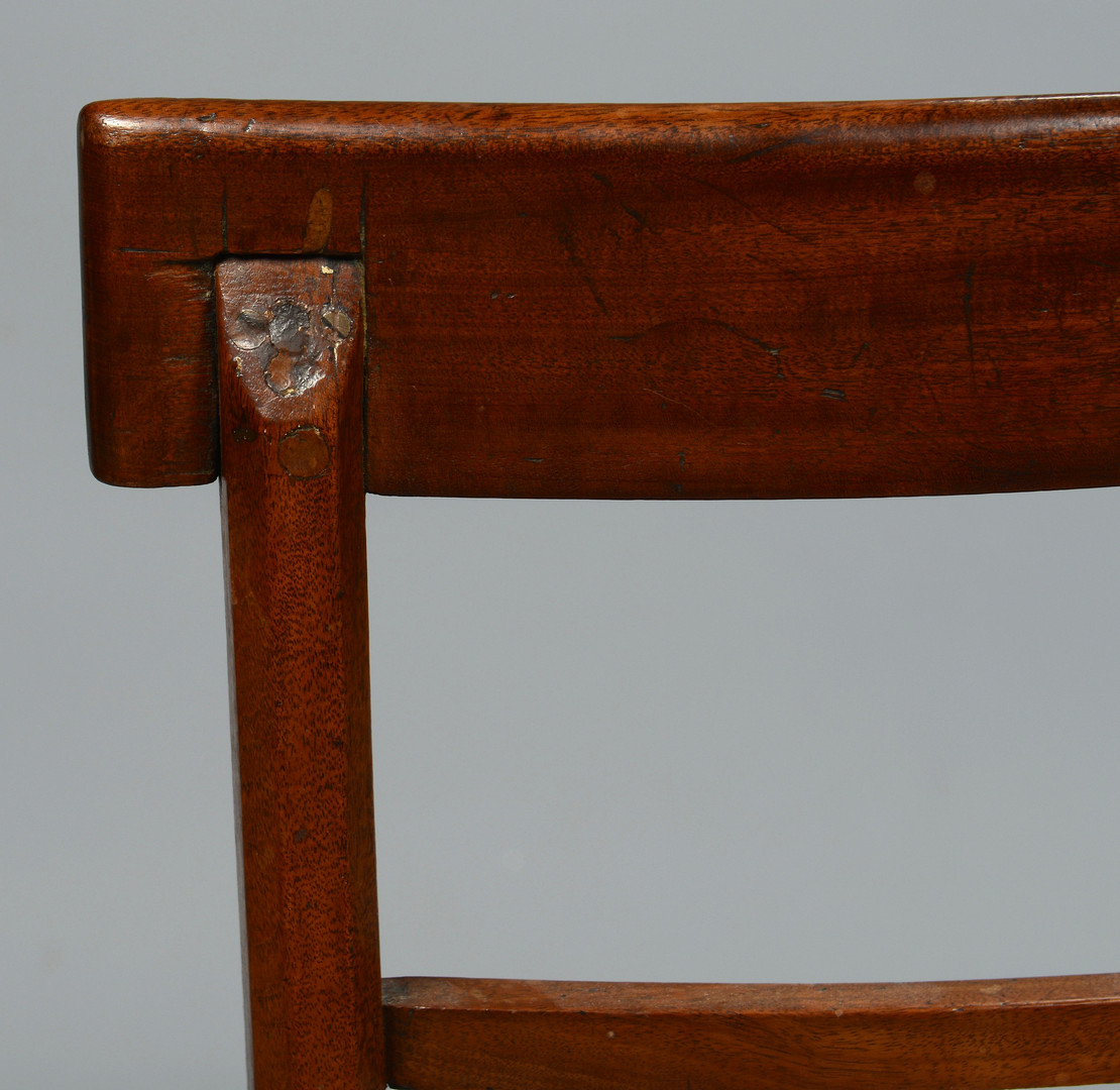 Lot 143: Pair Hepplewhite Side Chairs