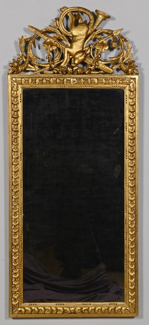 Lot 146: Giltwood Nature Morte Mirror