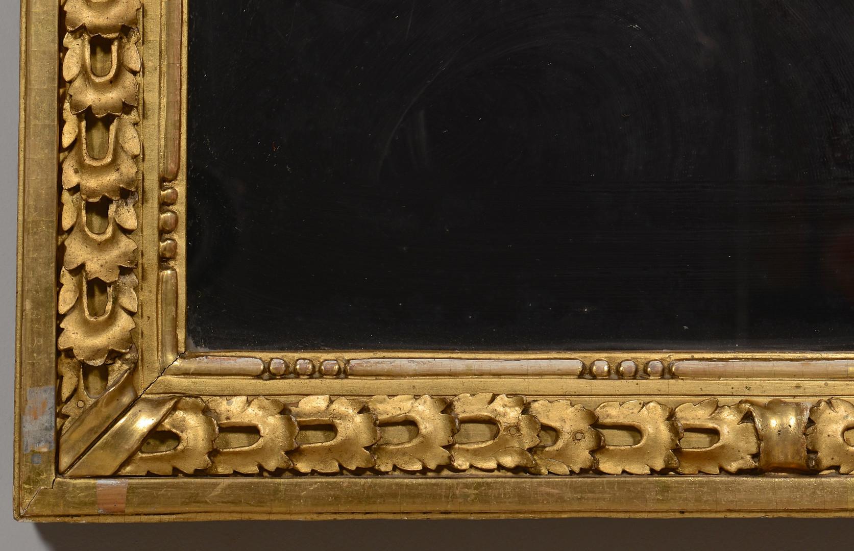 Lot 146: Giltwood Nature Morte Mirror