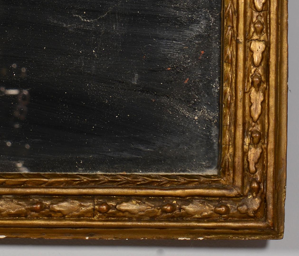 Lot 147: Neoclassical Portrait Mirror