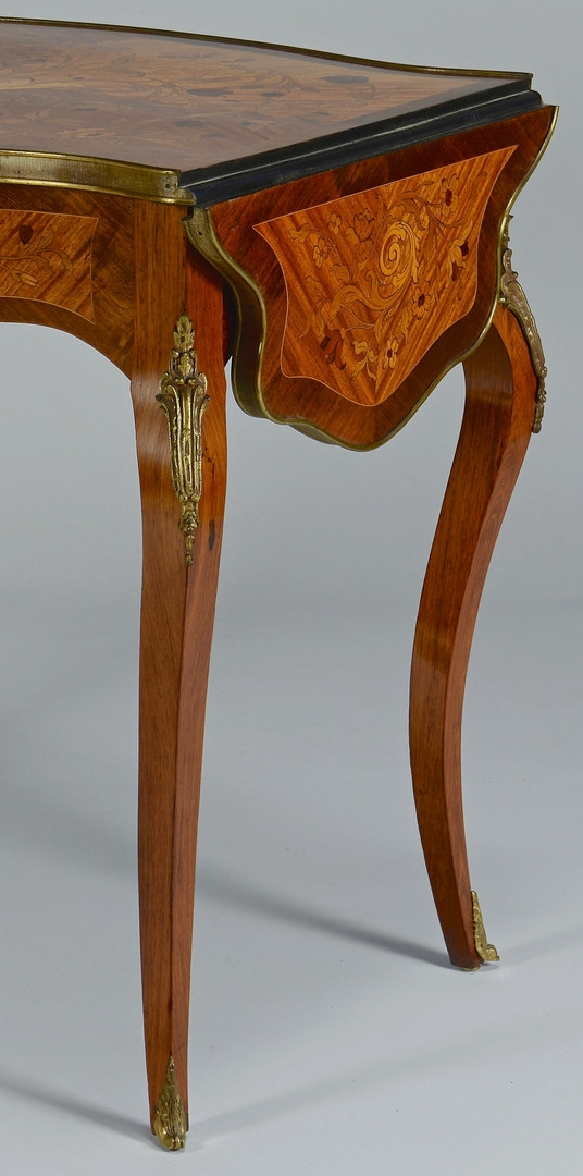 Lot 153: Louis XV Style Inlaid Table
