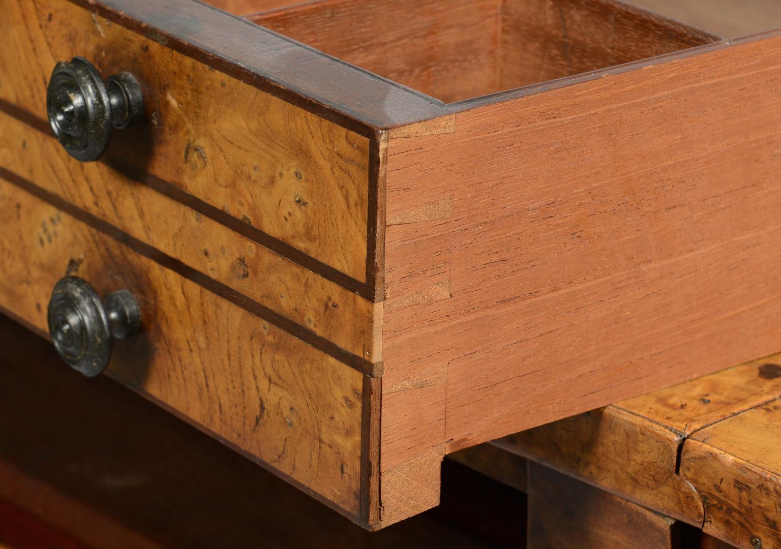 Lot 156: Birdseye Maple Work Table