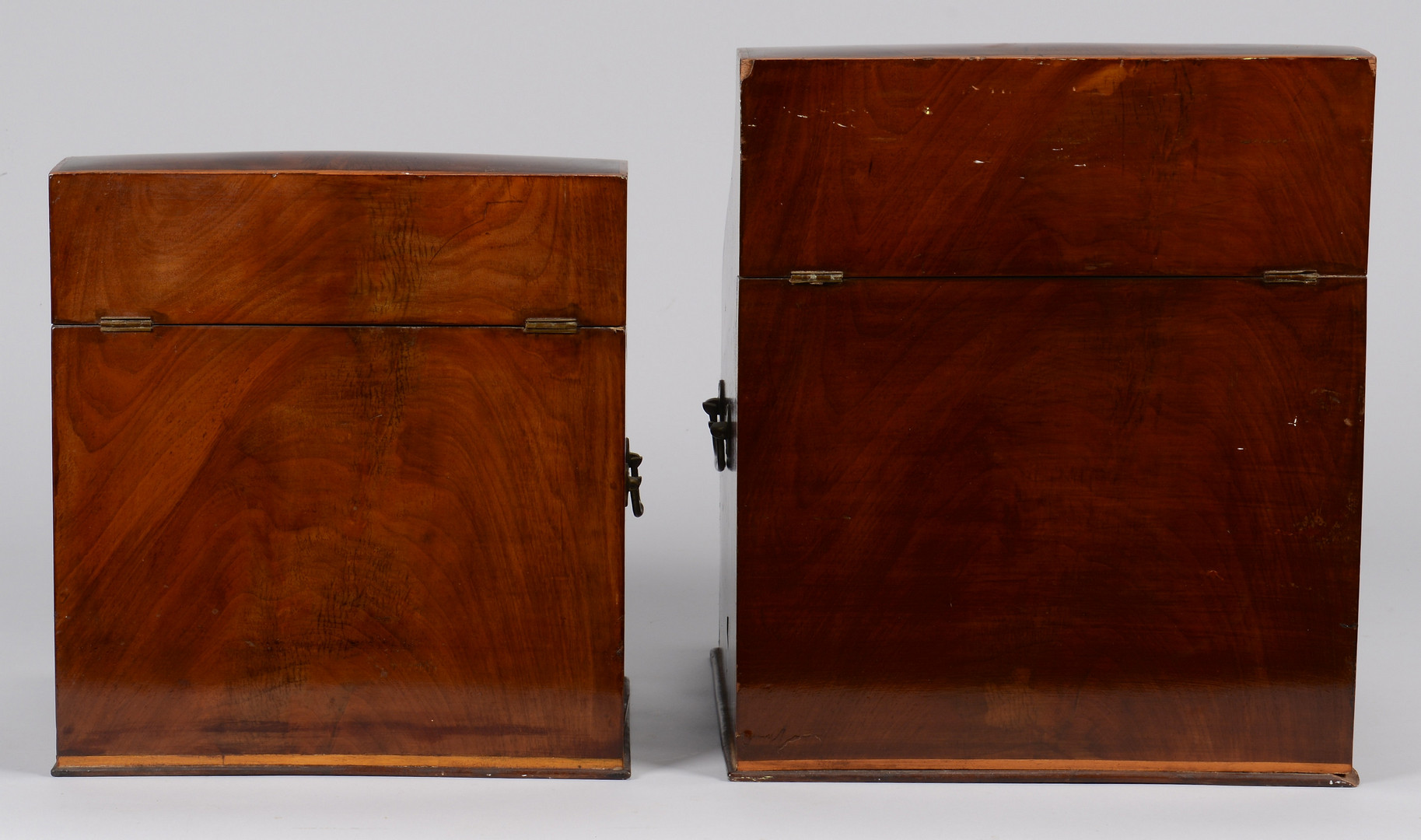 Lot 157: Two Knife Boxes, c.1830
