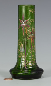 Lot 161: Galle Art Glass Vase