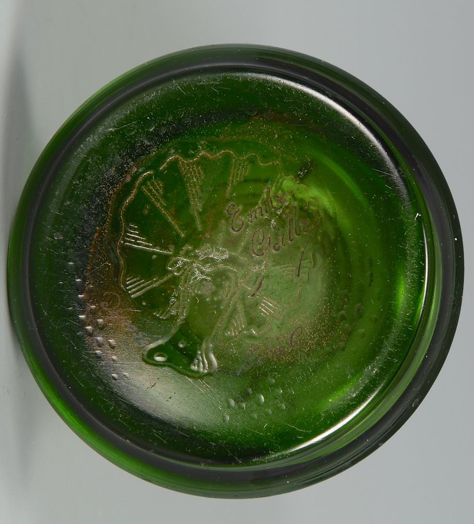 Lot 161: Galle Art Glass Vase