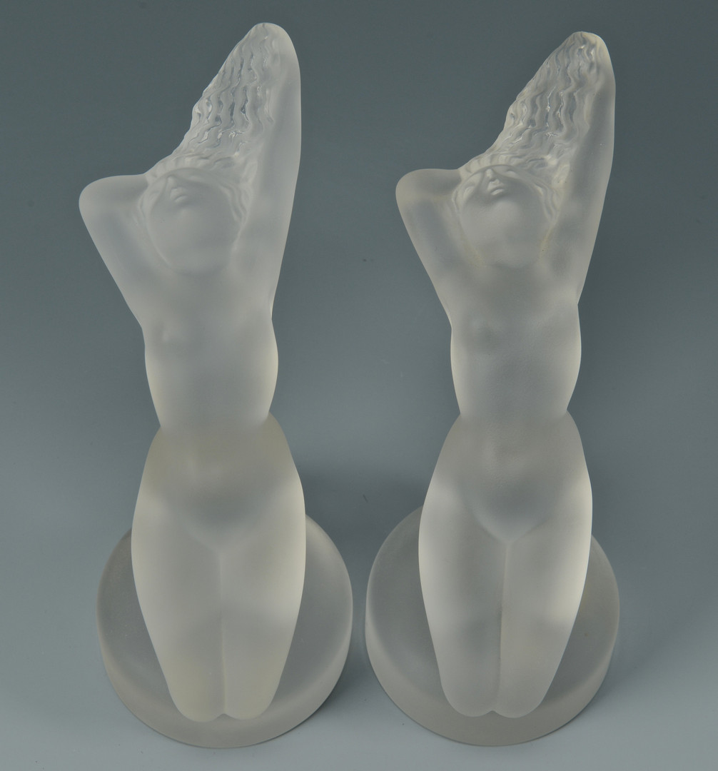 Lot 164: 4 Articles of Lalique Crystal