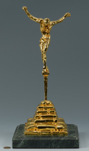 Lot 168: Dali Christ of St. John of the Cross Sculpture