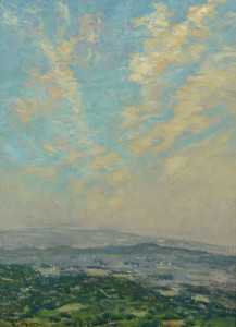 Lot 176: Charles Vezin Oil on Canvas Landscape