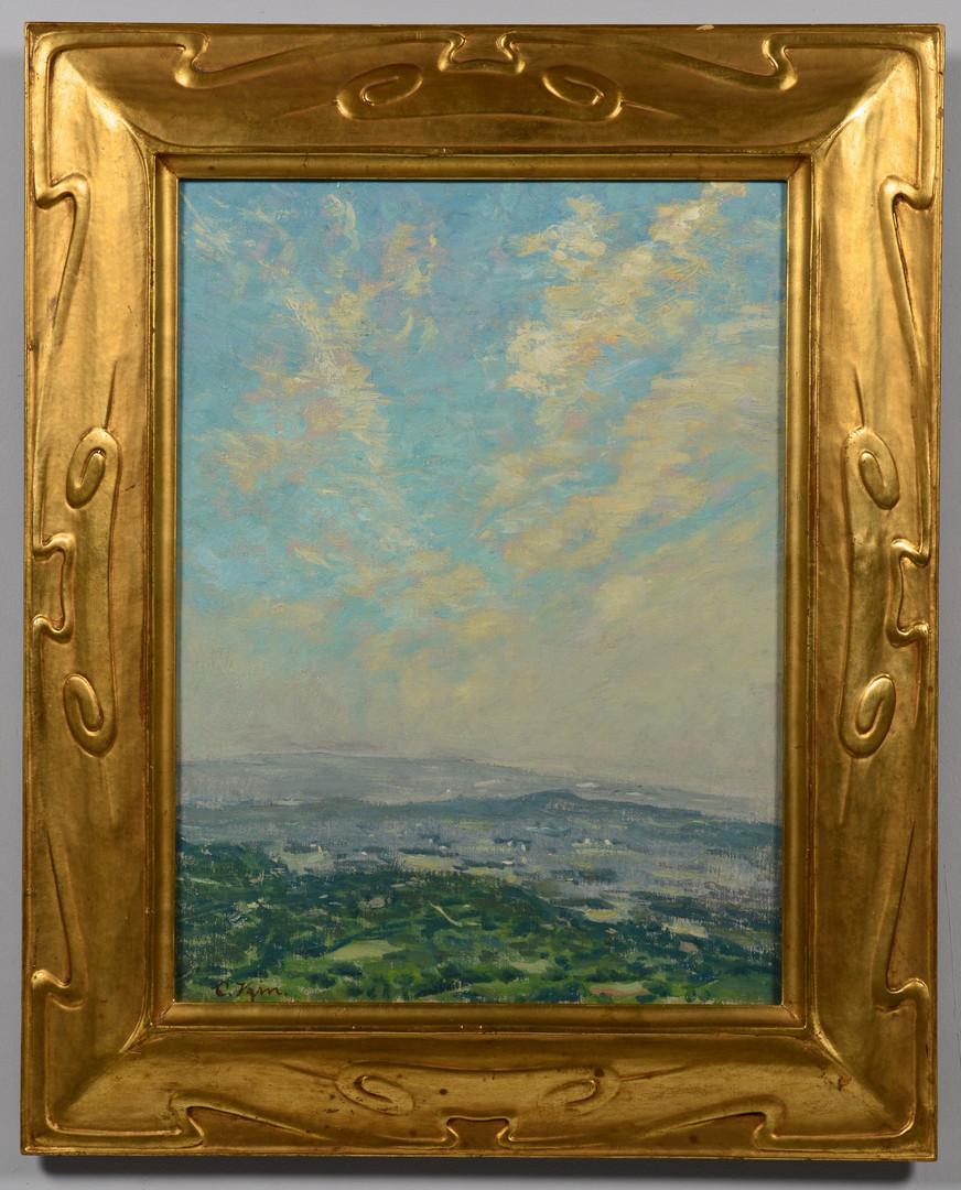 Lot 176: Charles Vezin Oil on Canvas Landscape