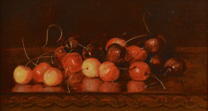"Lot 177: Robert S. Dunning, ""Cherries"""