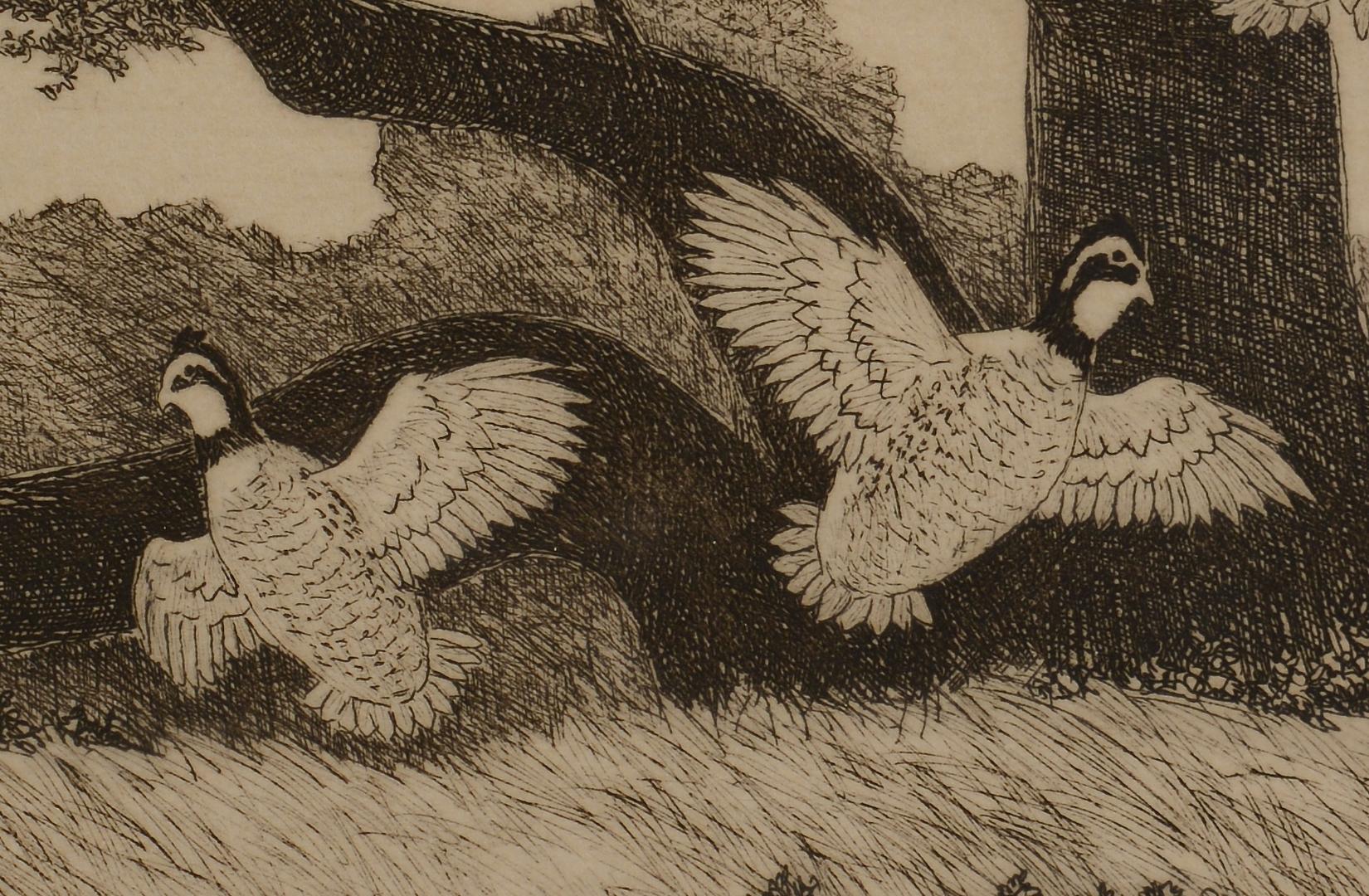Lot 185: 2 Dell Weller Duck Hunt Prints