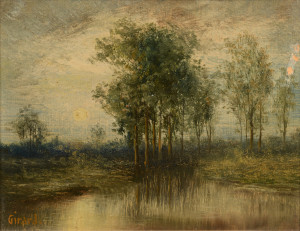 Lot 186: Wm. Washington Girard, TN Landscape