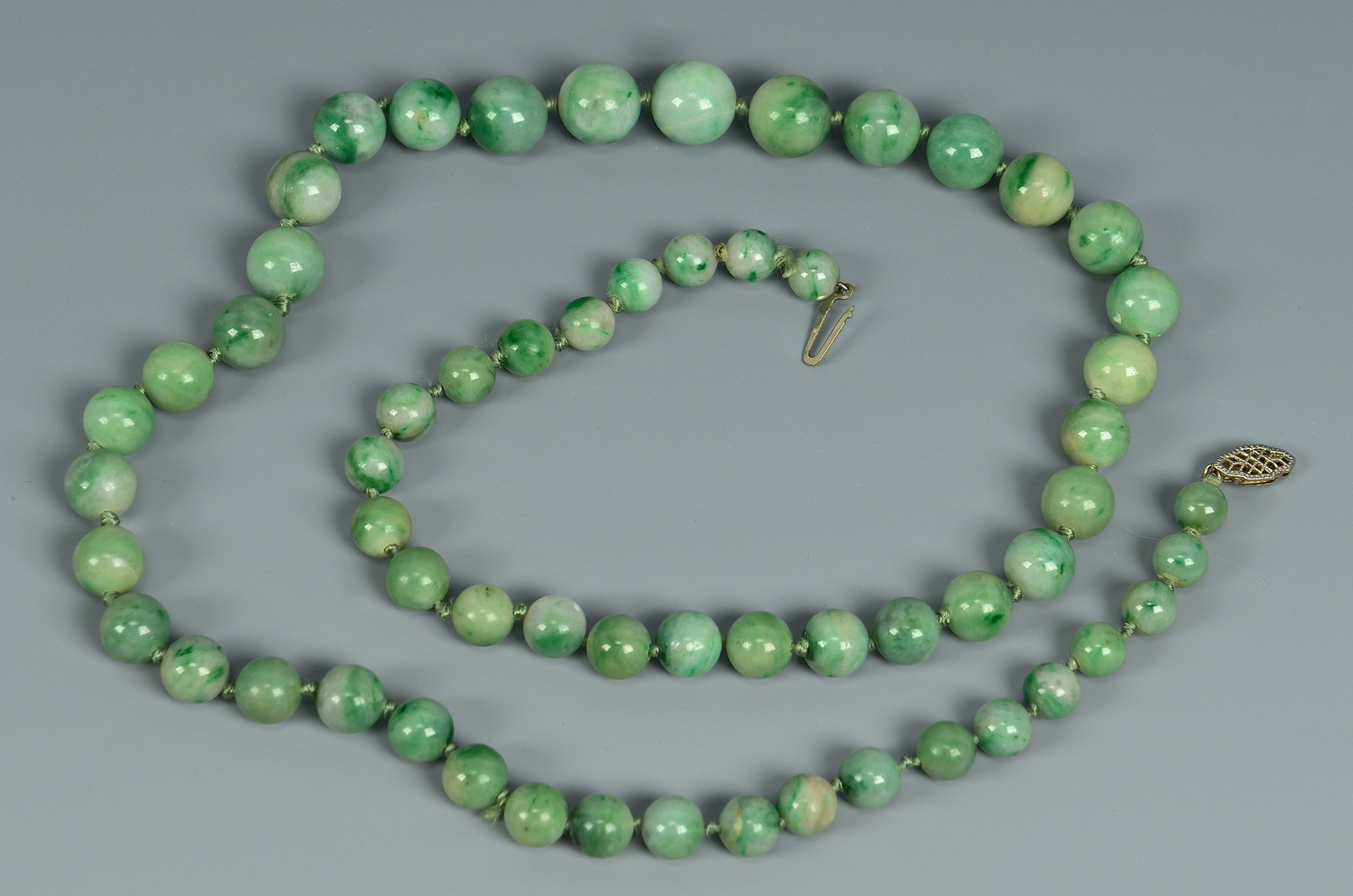Lot 18: Grouping of Jade Jewelry, 4 items