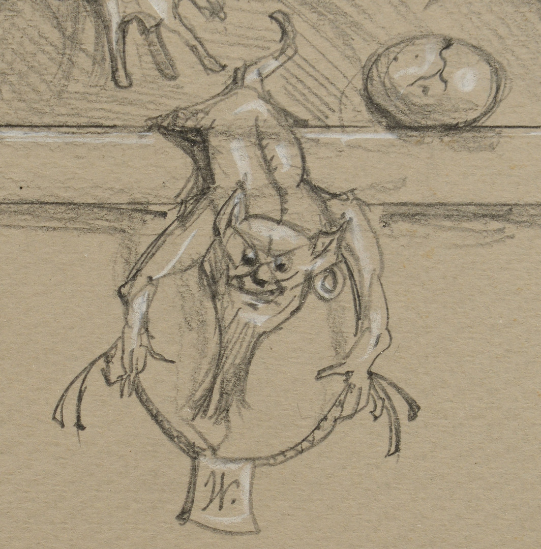 Lot 198: 2 Werner Wildner Drawings