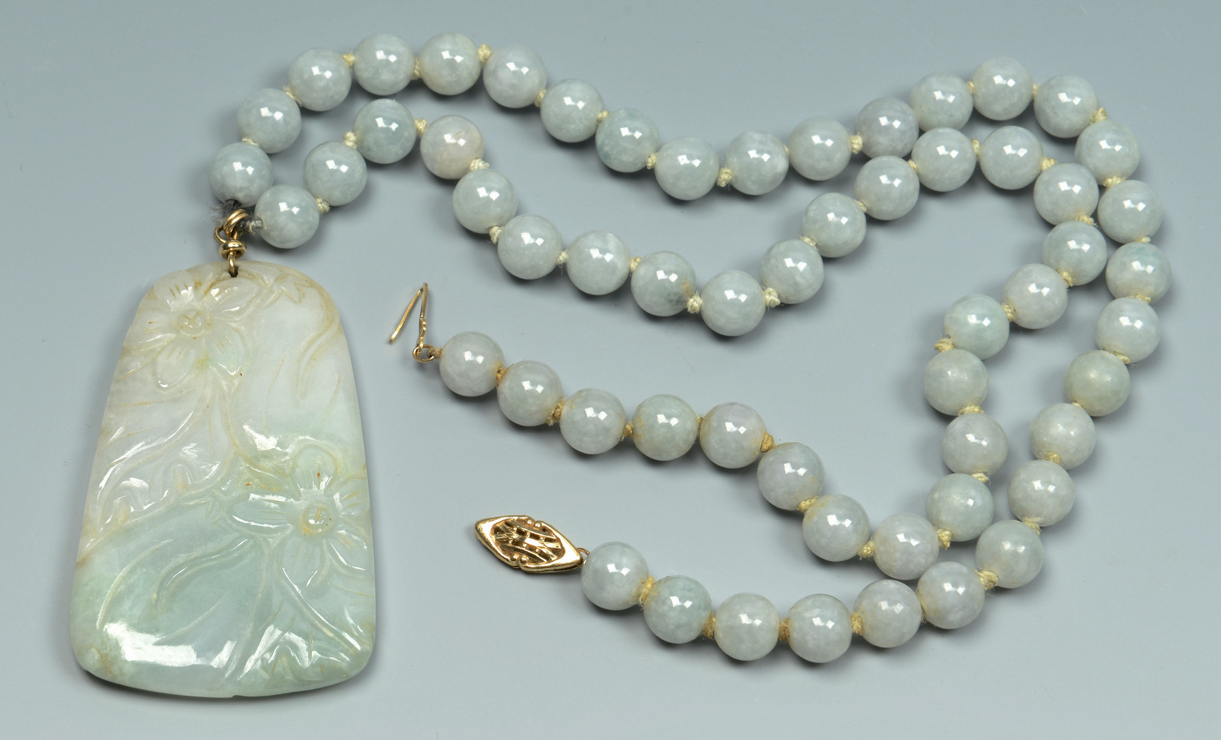 Lot 19: Group of Jade Jewelry & Other