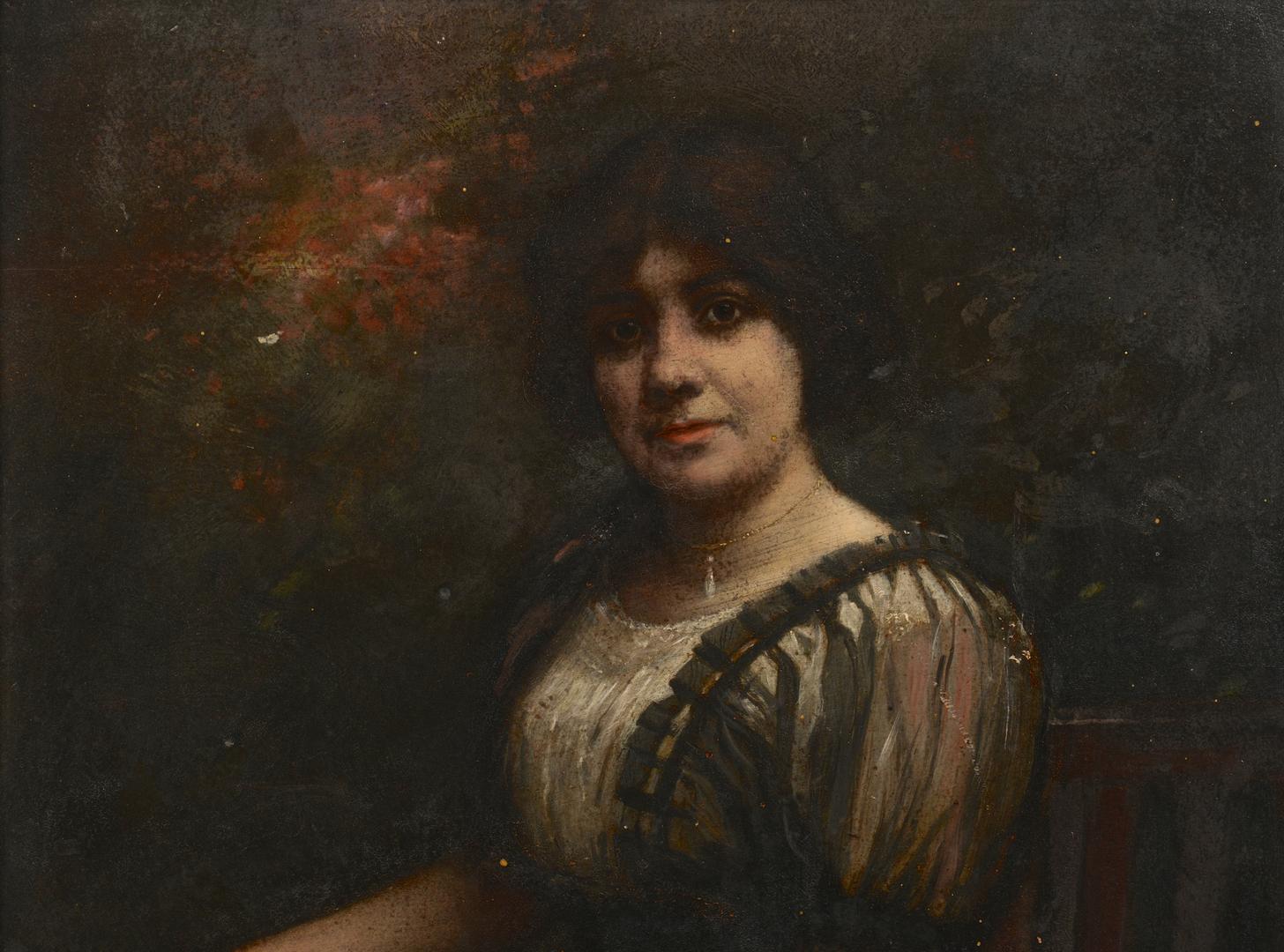 Lot 202: Lloyd Branson O/B Portrait, Mrs. Lay