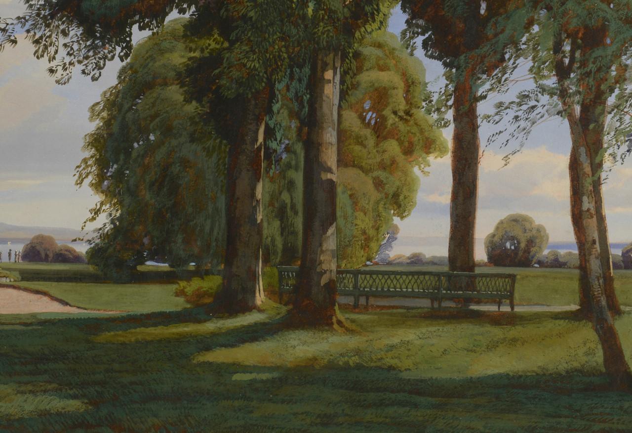 """Lot 206: J.M. Dunant-Vallier, """"Chateau de Malagny"""""""