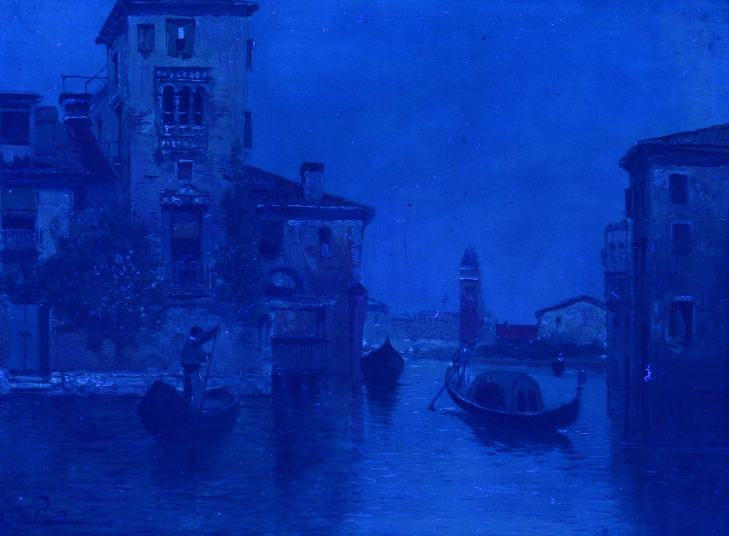 Lot 208: R. Valentini o/b, Venetian Canal