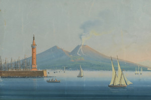 Lot 210: Neapolitan School Watercolor