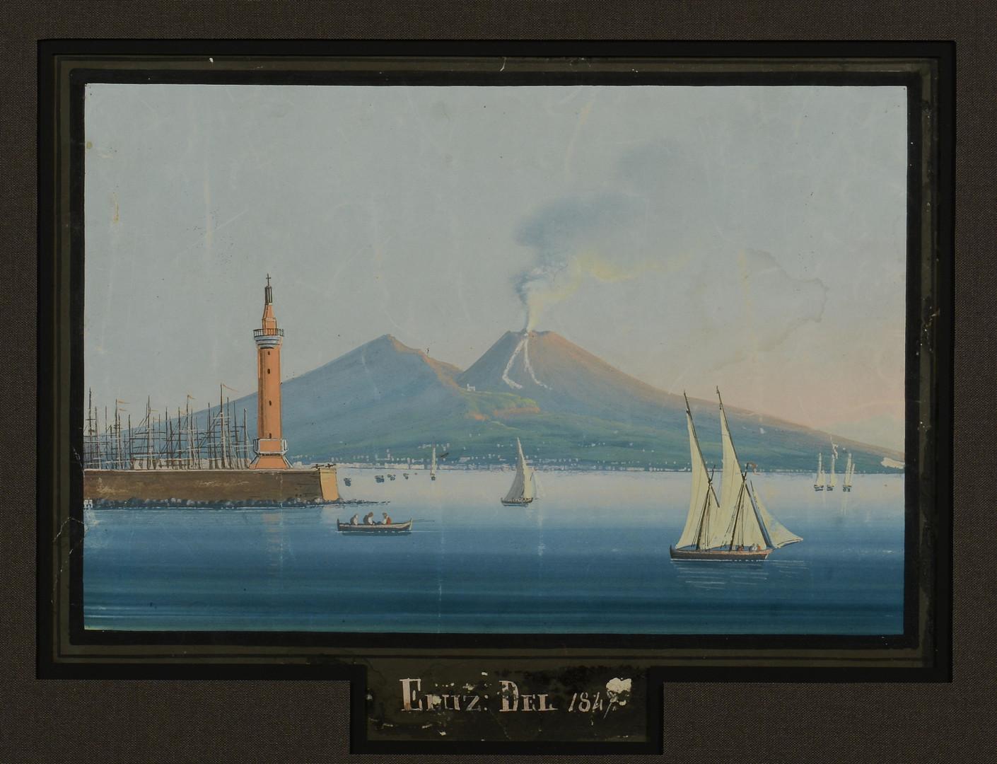 Lot 210: Neapolitan School Watercolor