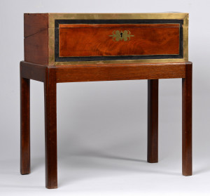 Lot 237: Writing Box on Stand