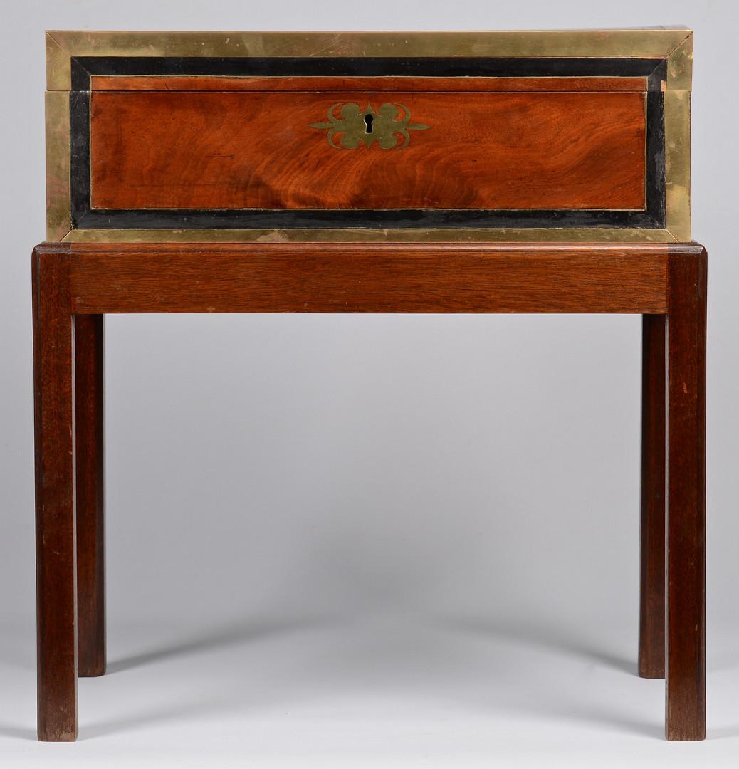 Lot 237: Writing Box on Stand