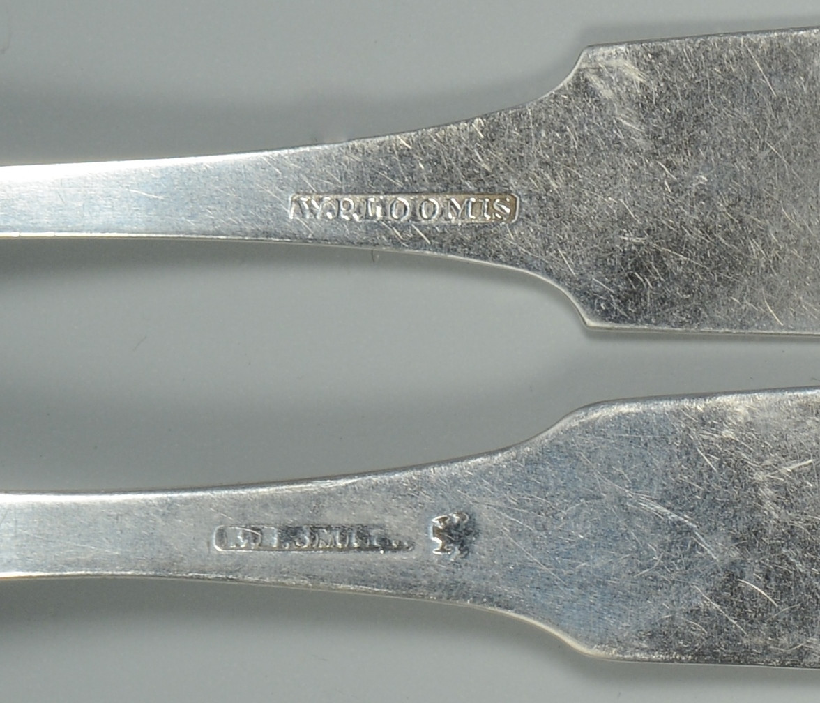Lot 246: 14 KY Coin Silver Spoons
