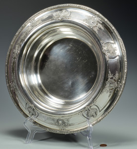 Lot 257: Sterling Silver Center Bowl, 14""