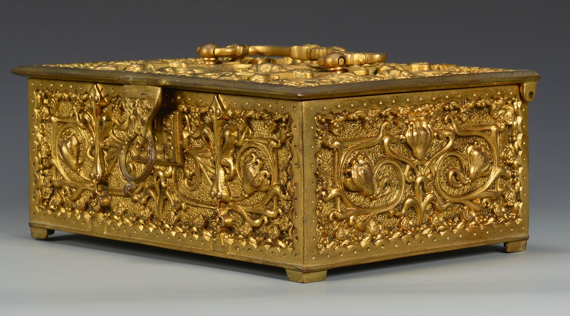 Lot 26: Erhard & Sohne Jewelry Box